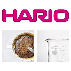HARIO ハリオ はりお 耐熱ガラス 硝子 glass がらす 耐熱温度差120℃ 熱に強い 日本製 国内工場 コーヒー 珈琲 器具 メーカー ブランド