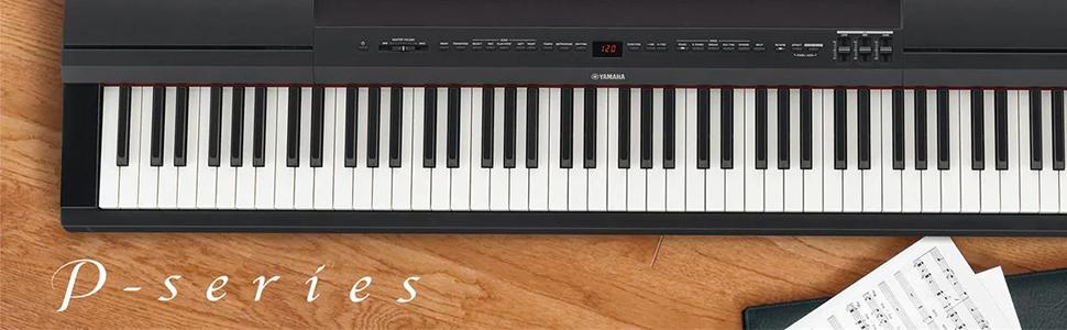 ヤマハ Pシリーズ 電子ピアノ ブラック P-45B