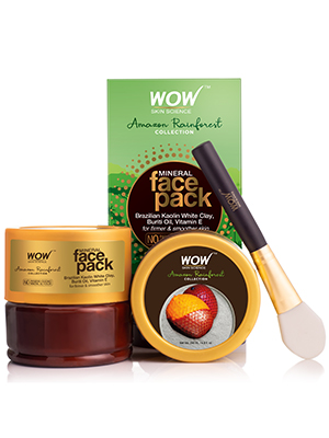 WOW Skin Science Amazon Rainforest Mineral Face Pack – 100mL