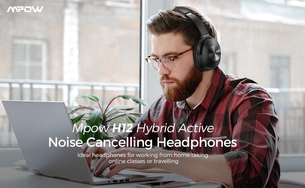 Mpow H12 Bluetooth ANC Headphone Pakistan Brandtech.pk