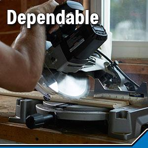 dependable, value miter saw, shopmaster saw, chop saw