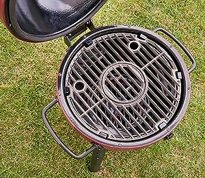 portable, grill, charcoal, kamado