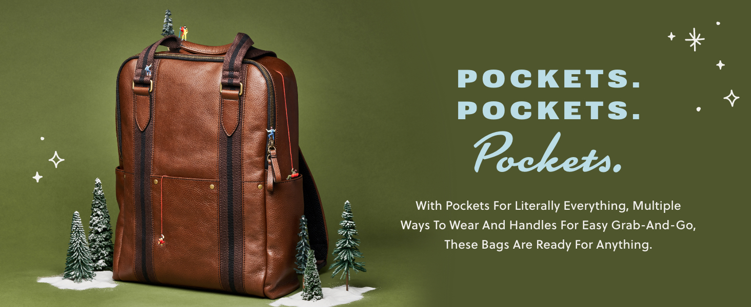 Gifts for men, fossil mens bags