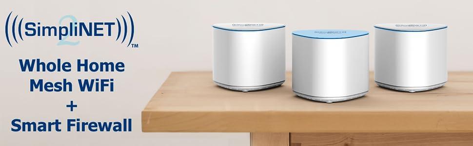 Amazon.com: Simplinet2 AC2100 - Sistema WiFi de malla para ...