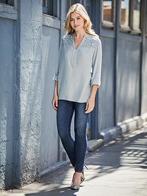 bandolino; perfect fit jeans; mandie