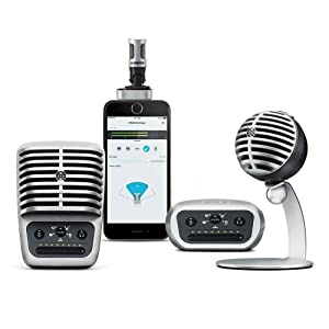 Shure, Motiv, MV, Digital microphone, digital mic, digital recording, mobile recording