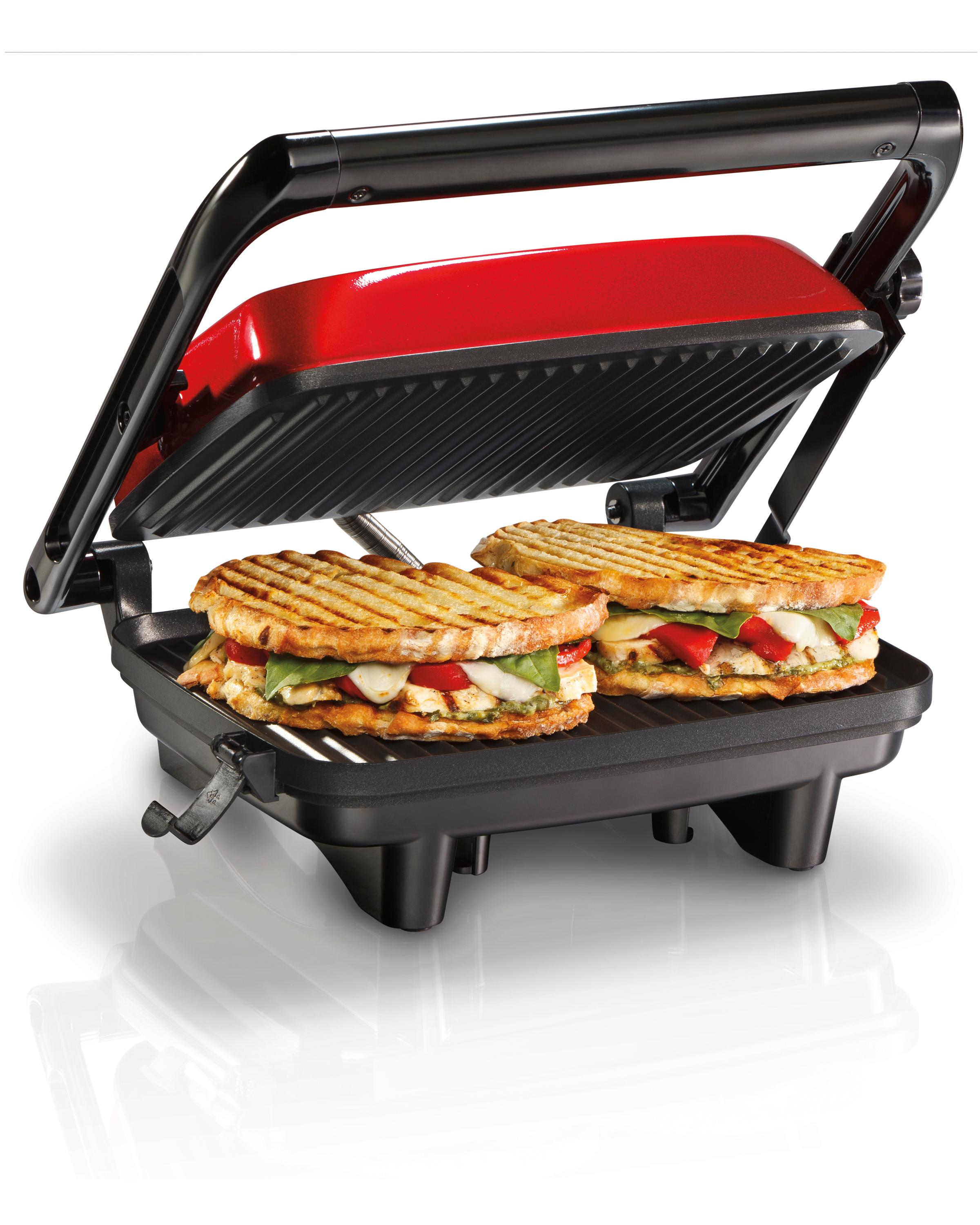 hamilton beach 25462z panini press gourmet. Black Bedroom Furniture Sets. Home Design Ideas