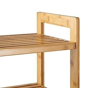 TRINITY Bamboo Shoe Rack TBFLNA-24032