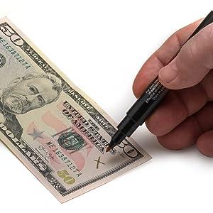 counterfeit detector, counterfeit pen, counterfeit, cash, money, drimark, dri mark