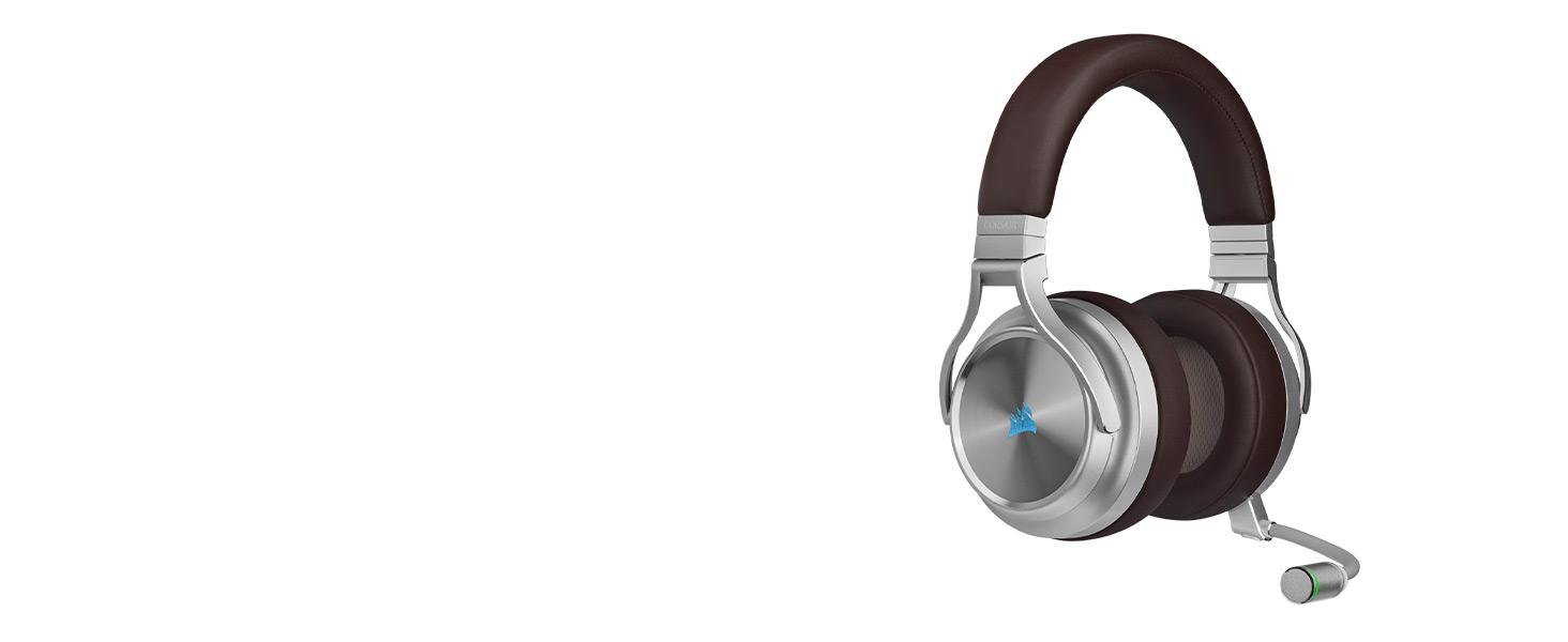 אוזניות גיימינג אלחוטיות CORSAIR VIRTUOSO RGB ESPRESO