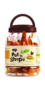 chicken treat, chicken dog treat, dog treat, dog treats, pet n shape dog treats, chicken treats