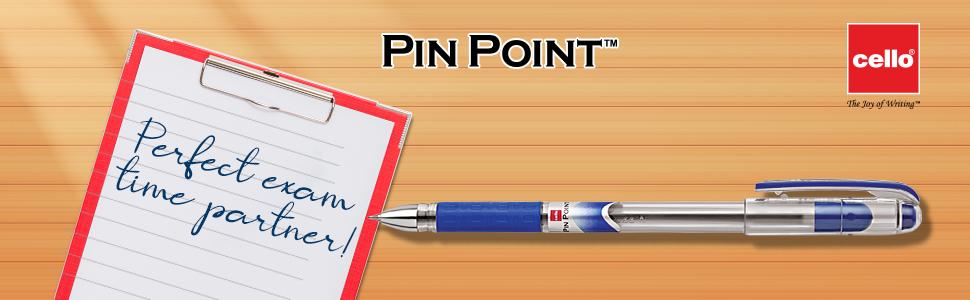Cello | Pinpoint Ball Pen | Pen Set | Fine writing pens | Best pens for exams