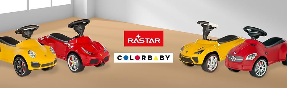 Rastar Correpasillos Lamborghini Urus, Color Rojo (ColorBaby 85236)