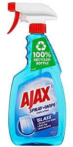 Ajax Spray n Wipe Glass Spray