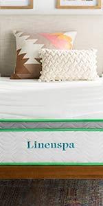"Linenspa 10"" Latex Hybrid Mattress"