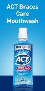 Mouthwash for braces sores.