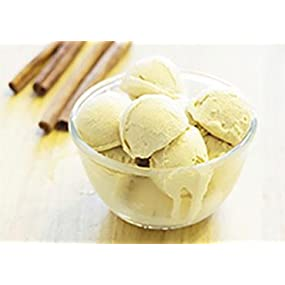 Cinnamon Roll Protein Ice Cream made with Pure Protein Whey Powder