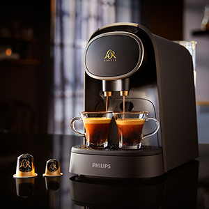 EXCLUSIVELY FOR THE L'OR BARISTA COFFEE MACHINE