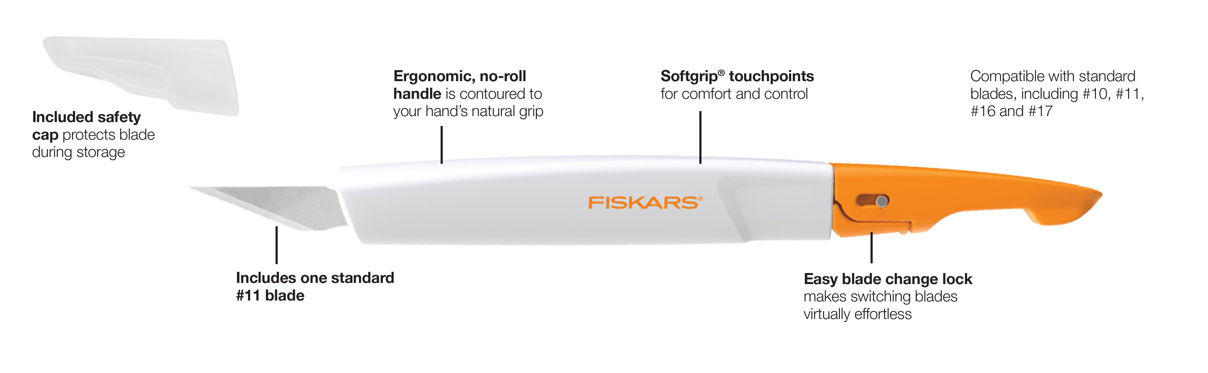 Amazon Com Fiskars 165110 1002 Easy Change Detail Craft