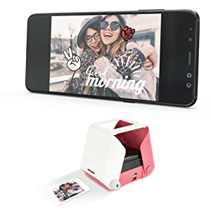 KiiPix smartphone picture printer fujiflim polaroid