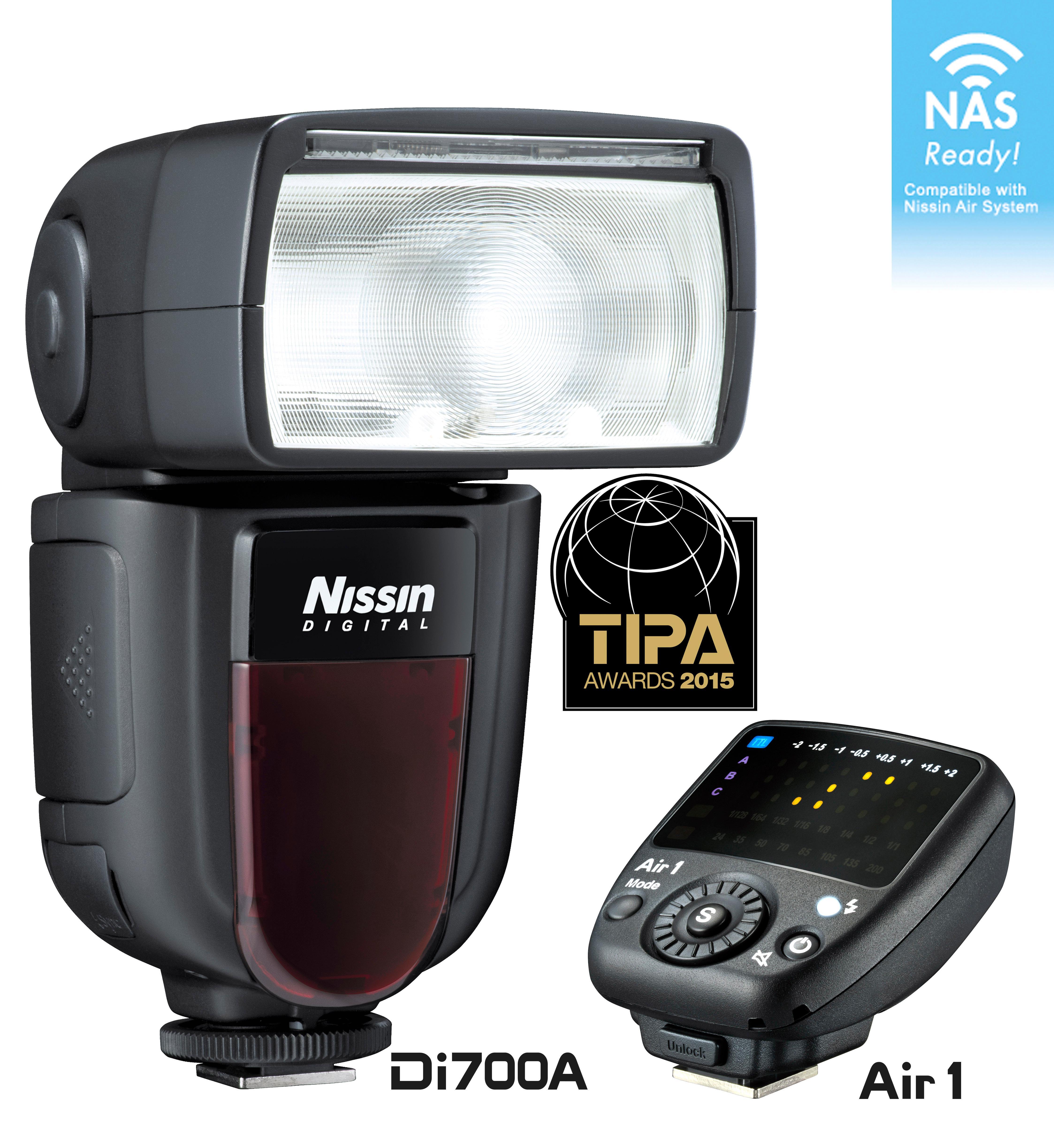 Nissin Di700 Aire Flash/Comandante Kit Cuatro tercios [nfg014ft/Bundle]: Amazon.es: Electrónica