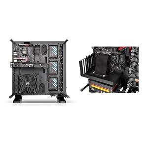 Versatile GPU & PSU Orientation