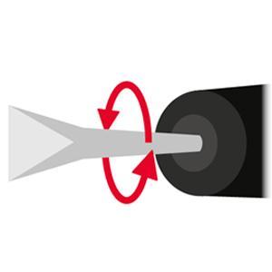 Vario Lock scalpello posizione angolo di taglio