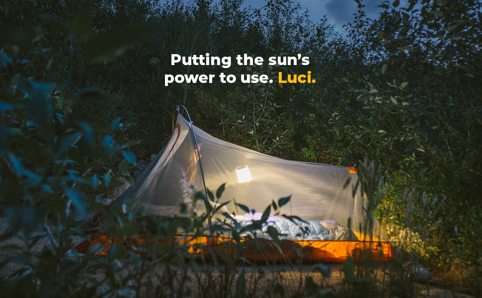 Luci Original solar inflatable light