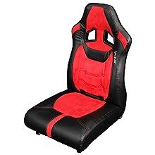 ゲーミング座椅子 LOC-01-RD
