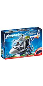 PLAYMOBIL City Action 6873 Polizei-Einsatzwagen mit Licht und Soundeffekten,...
