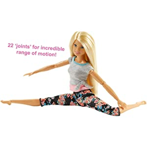 Barbie Made To Move Doll, Blonde