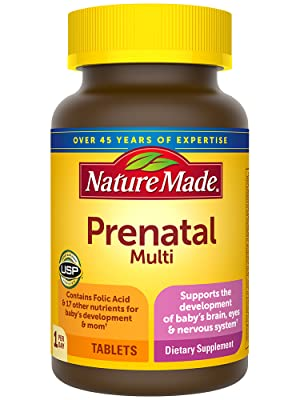 Nature Made Prenatal Multivitamin Tablets