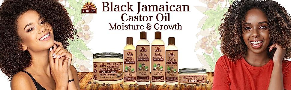 Black jamaican Castor Oil Title Image