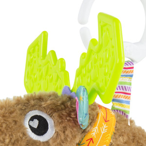 Mortimer's chewy antlers feature fun textures too!