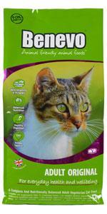 Benevo Katzenfutter Vegan in 2 kg oder 10 kg