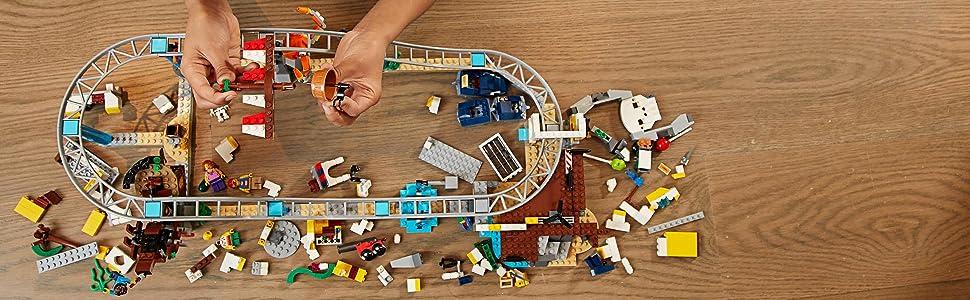 LEGO Creator - Montaña rusa pirata (31084): Amazon.es