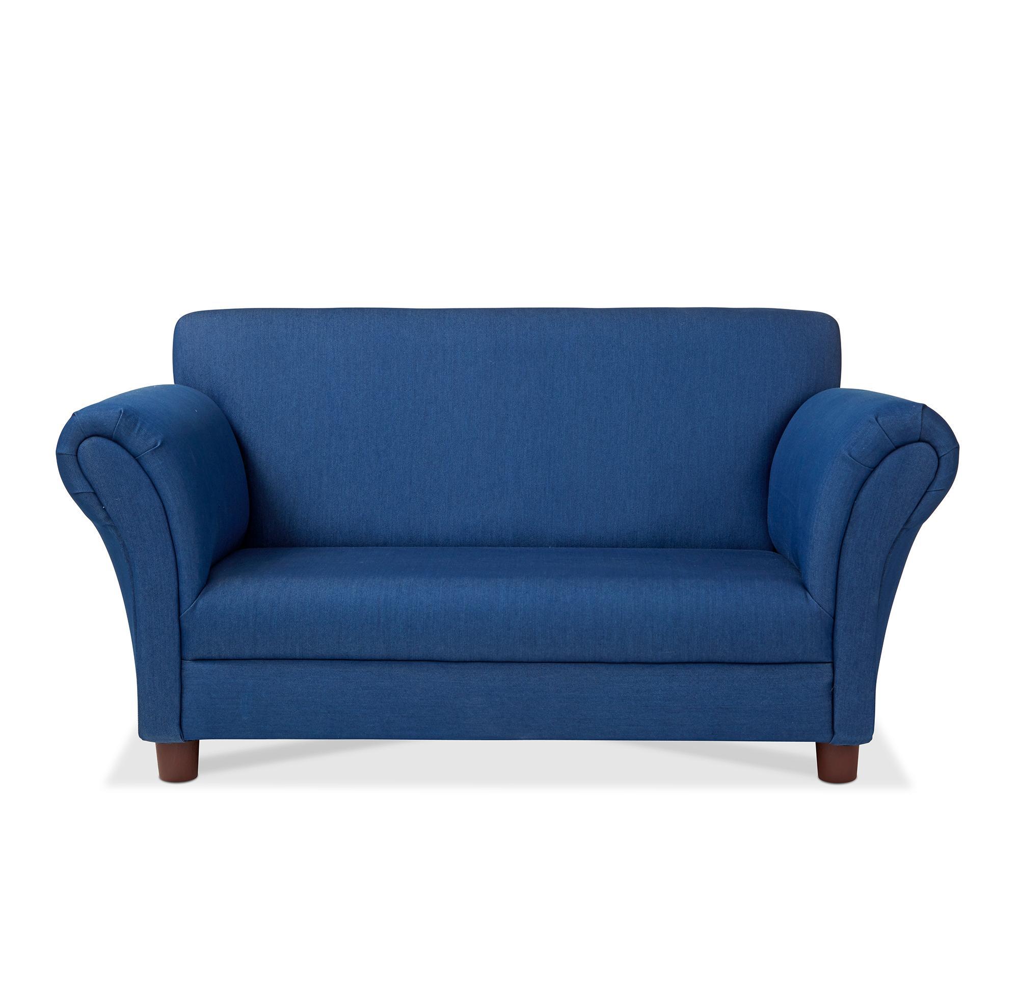 Melissa U0026 Doug Childu0027s Sofa   Denim Childrenu0027s Furniture