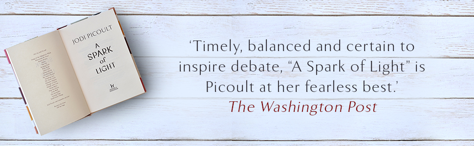 """'""""A Spark of Light"""" is Picoult at her fearless best.' The Washington Post"""