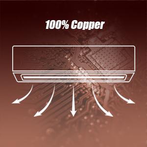 100% Copper Tubing