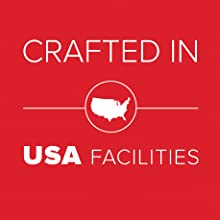 Crafted in U.S.A. facilities