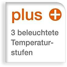 3 Temperaturstufen