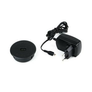 USB-kabeldoorvoer.