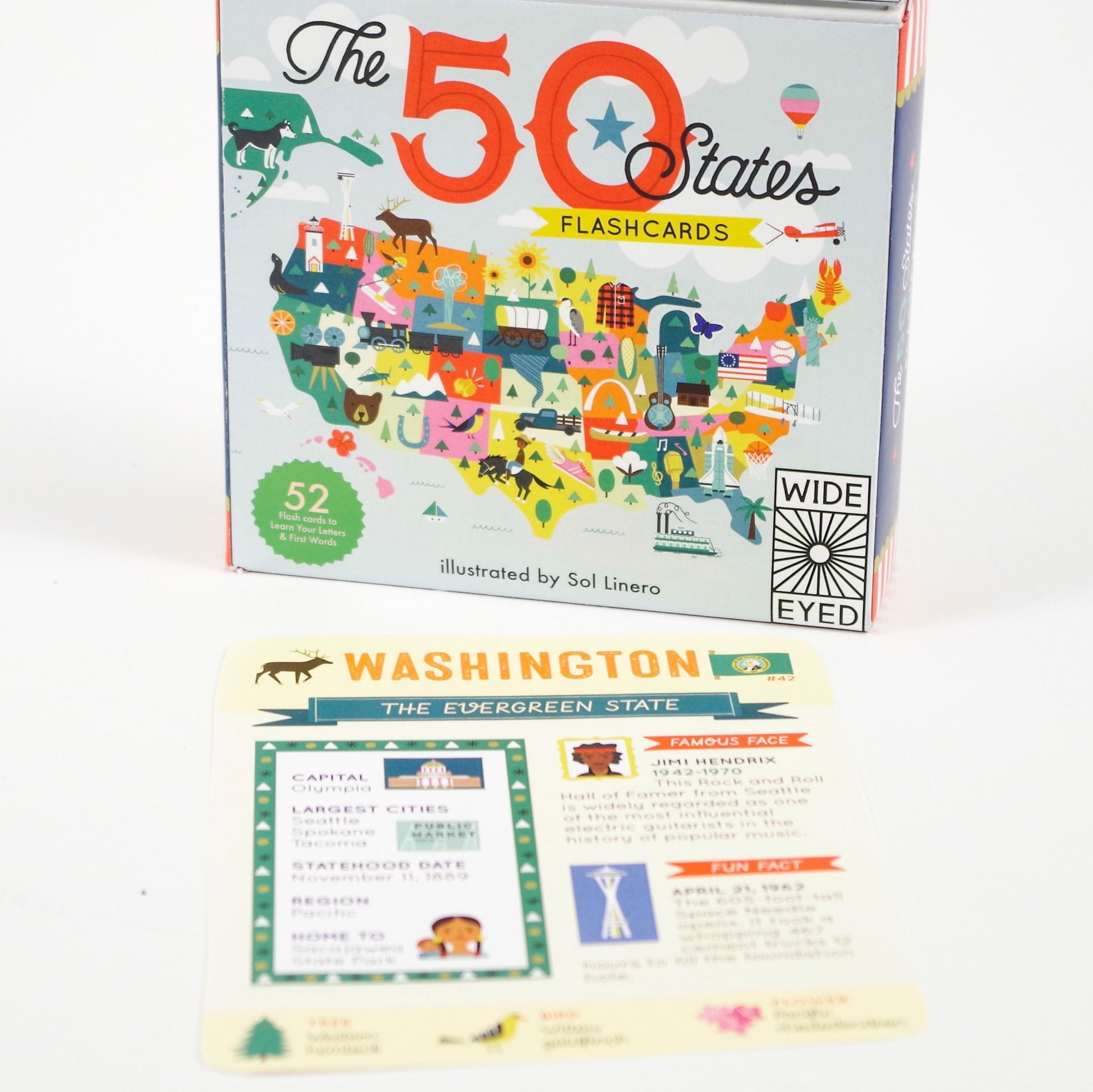The 50 States - Flashcards: Gabrielle Balkan, Sol Linero
