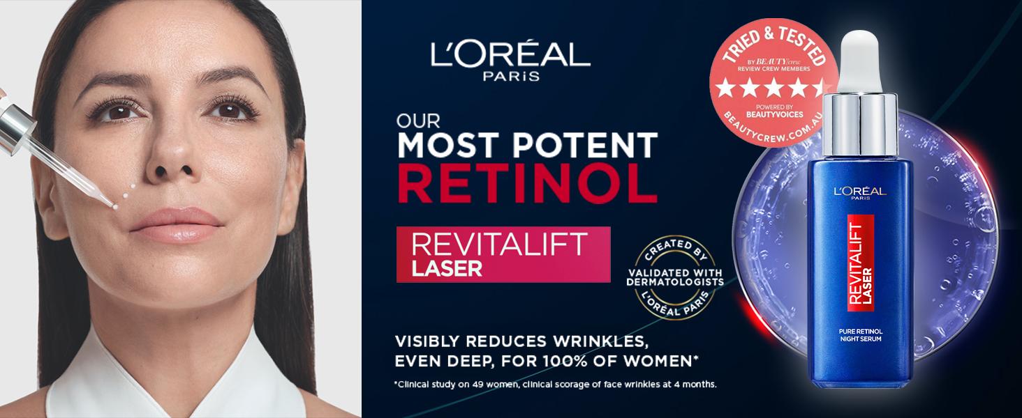 L'Oréal Paris Pure Retinol Revitalift Laser Serum