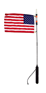 Yakattack Diver Down Flag 12x18 Flag Kit for Visicarbon Pro and Visipole II