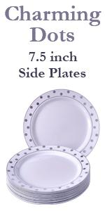 Party Disposable 20pc Dinnerware Set | 20 Side and Salad Plates | Heavyweight Plastic Dishes | 7.5 · Party Disposable 20pc Dinnerware Set | 20 Dinner Plates ...  sc 1 st  Amazon.com & Amazon.com: Party Disposable 40 pc Dinnerware Set | 20 Dinner Plates ...