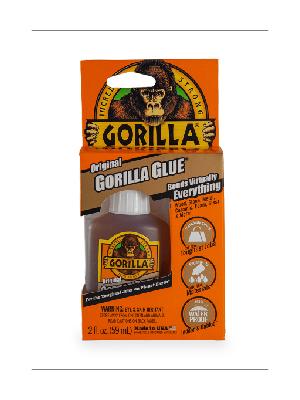 Gorilla Original Glue Brown Waterproof Polyurethane Adhesive