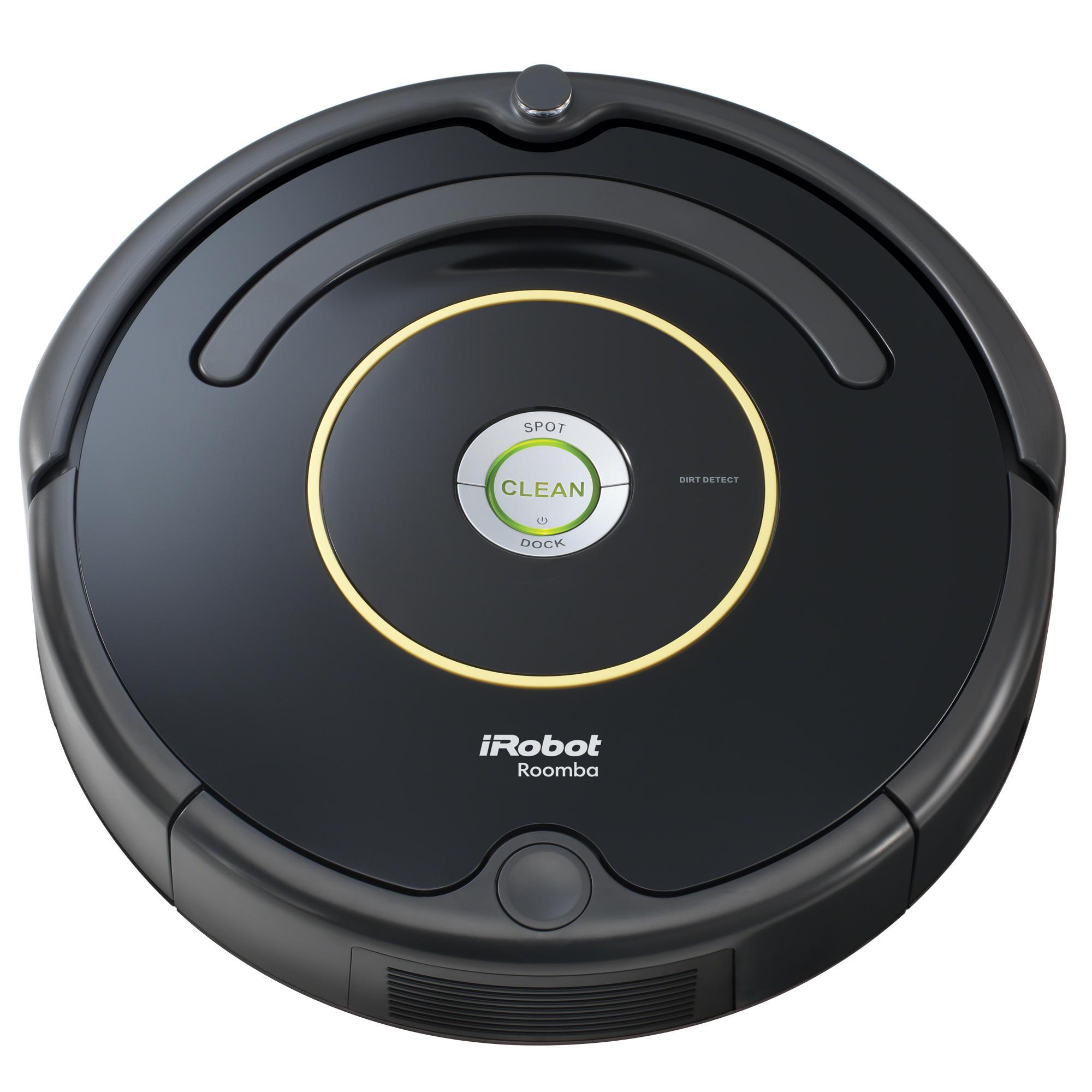 irobot roomba 614 robot vacuum home kitchen. Black Bedroom Furniture Sets. Home Design Ideas