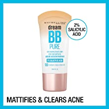 Mattifies & Clears Acne