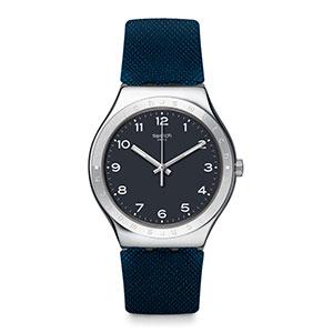 bigclassic, watch, swatch, blue